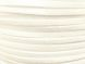 Suede imitation ribbon white