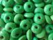 Wood bead rondelle green 11,5 x 5,5mm